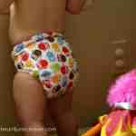 Swaddlebees (Blueberry) Capri Diaper Cover Review