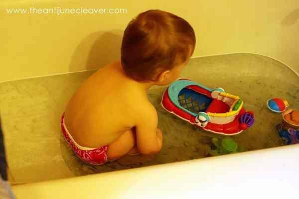 Imse Vimse swim diaper review #clothdiapers