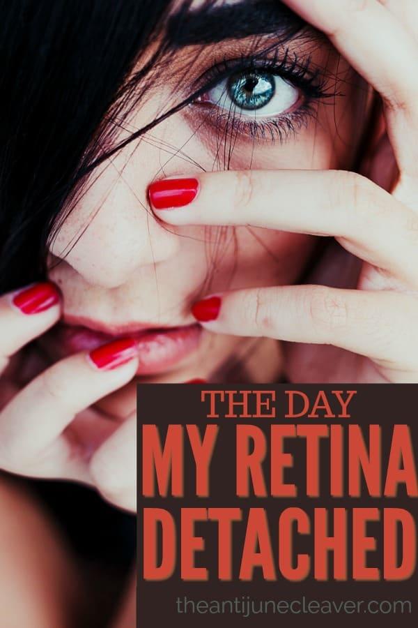 The day my retina detached #detachedretina #eyes #eyeproblems #optometry #retina #health #eyehealth