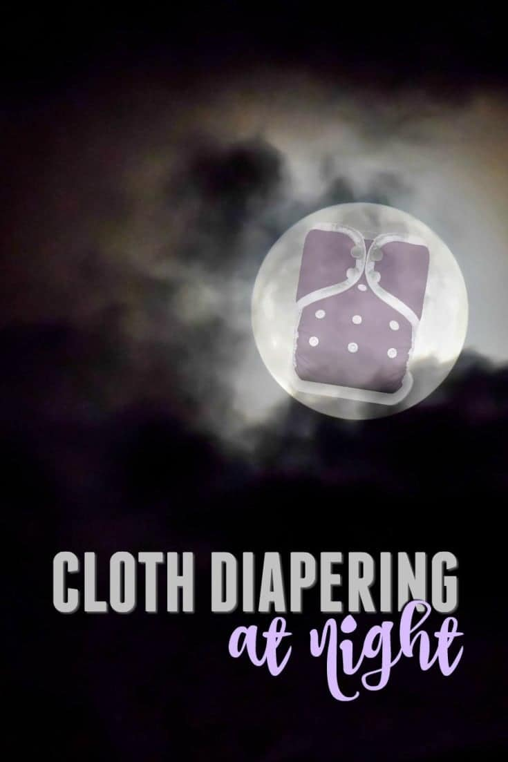 Cloth diapering at night - Tips to help your baby stay dry through the night