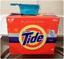 Washing Cloth Diapers - Tide