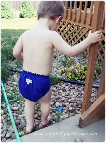 AppleCheeks Swim Diaper review #clothdiapers