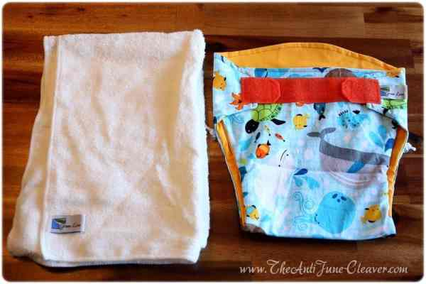 Green Line cloth diaper #review