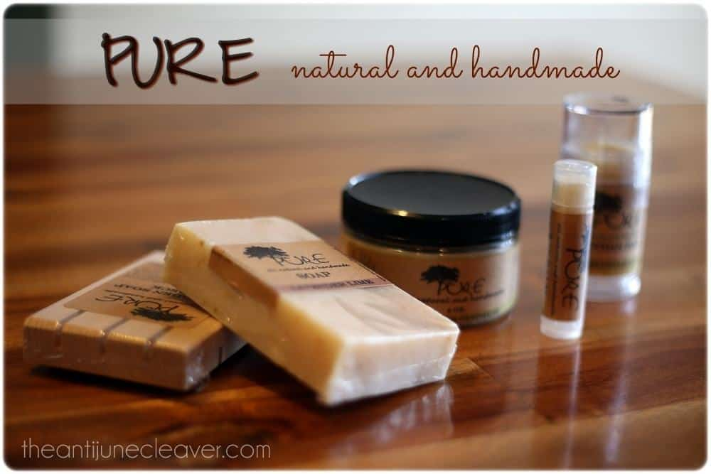 PURE Natural and Handmade Review #NaturalNewYear #giveaway