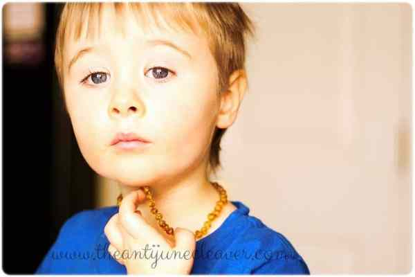 Amber for Babies amber teething necklace #review