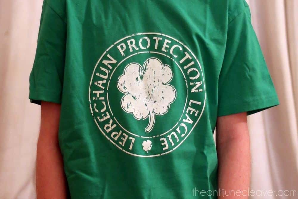 St Patrick's Day t-shirt review