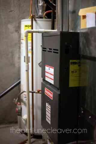 Energy efficient furnace #DEsmarthome