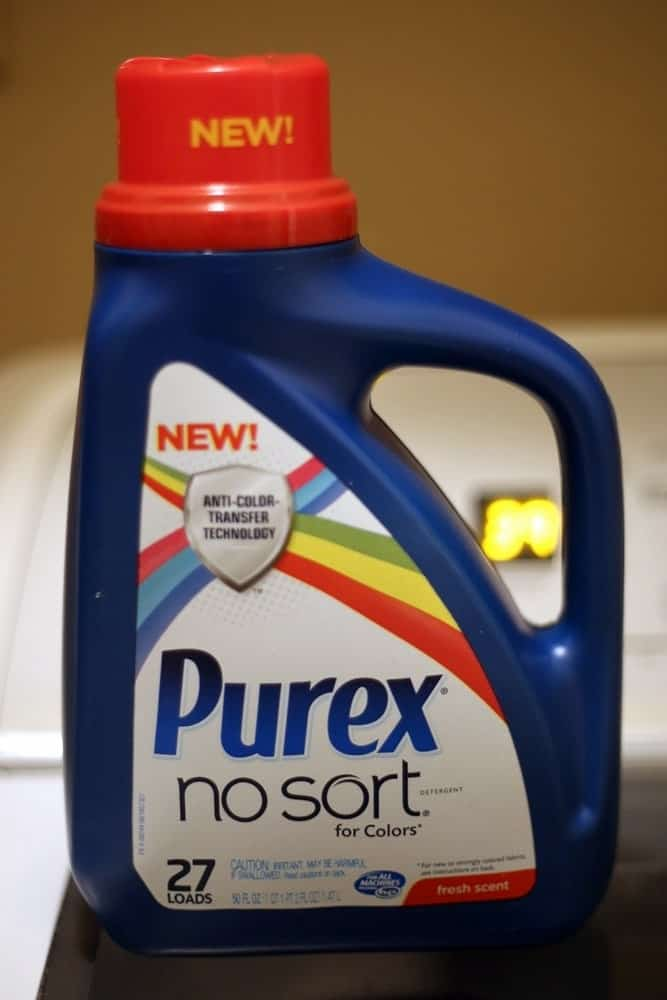 Purex No Sort Laundry Detergent Review #PurexInsiders
