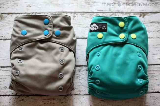 The NEW Funky Fluff Stay Dry 2.0 Review #clothdiapers #FUNKtionalCloth