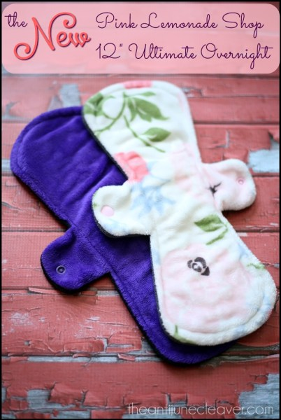 """12"""" Ultimate Overnight pad from Pink Lemonade Shop #review #mamacloth"""