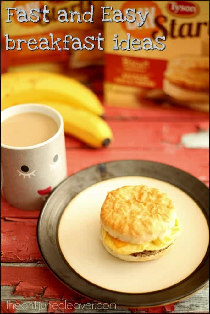 Quick breakfast ideas for teens #shop #StartWithTyson