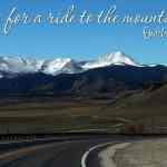 Tips for a Ride to the Mountains with Kids