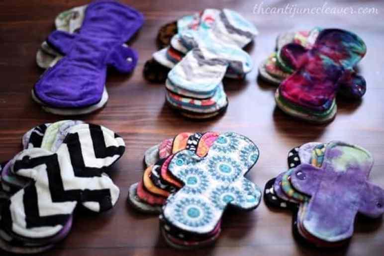 Mama Cloth - how many cloth pads do you need? #mamacloth