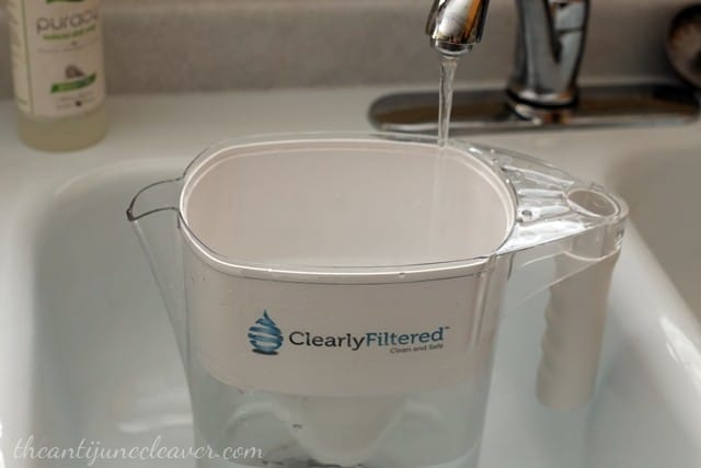 Clearly Filtered water pitcher review - say goodbye to bottled water