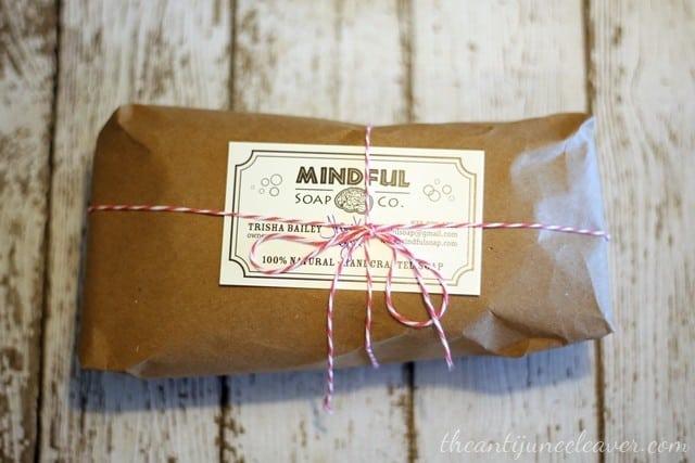 Mindful Soap Co review #essentialoils #allnatural