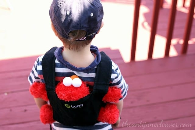 Get Your Future Babywearer Started Early with the #Boba Mini #babywearing #bobalove #BobaAmbassador