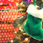 Last Minute Stocking Stuffers for Teen Boys