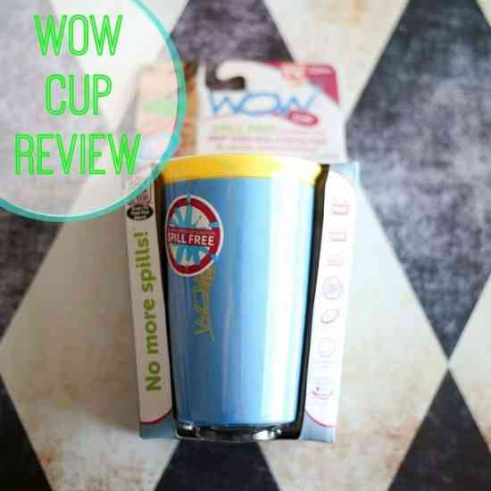 Wow Cup no spill cup review
