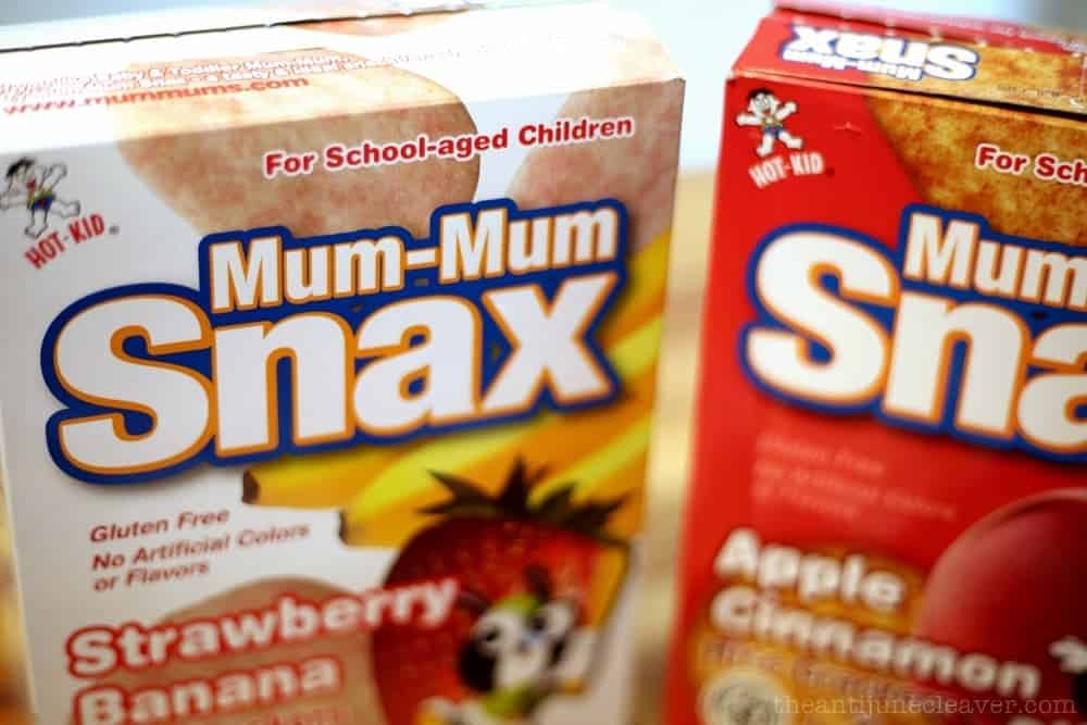 Mum-Mum Snax are the snack that both you and your preschooler will love