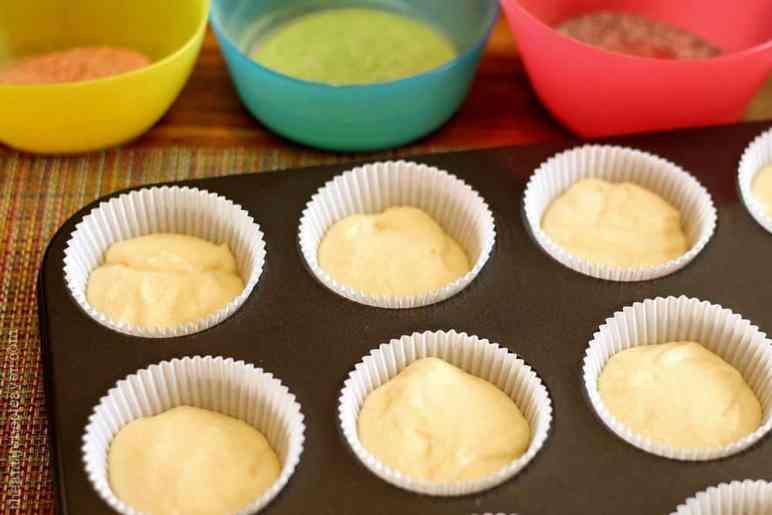 Skittles Rainbow Tie Dye Cupcakes Recipe @Samsclub #ad #SkittlesTourney
