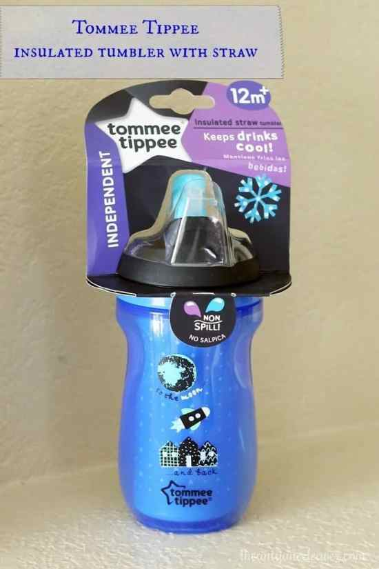 The NEW Tommee Tippee insulated sipper tumbler with a straw #TommeeMommee