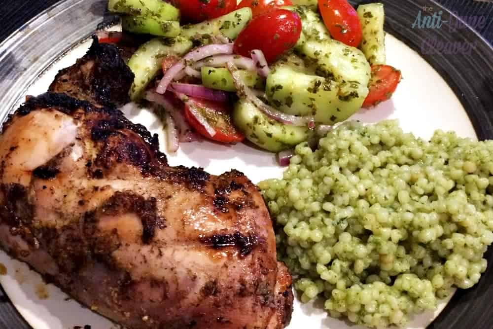 Grilled jerk chicken recipe. The taste of The Caribbean at home