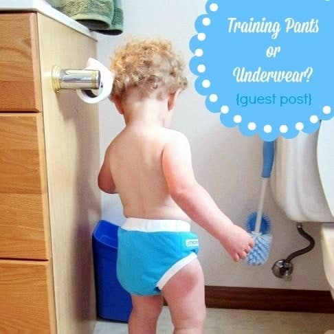 Cloth Training Pants or Underwear. Which Choice is Right for You? {Guest Post}