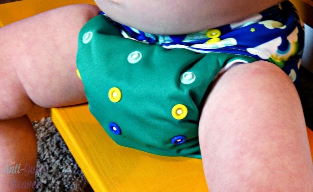 Winning Colors Baby AIO cloth diaper review