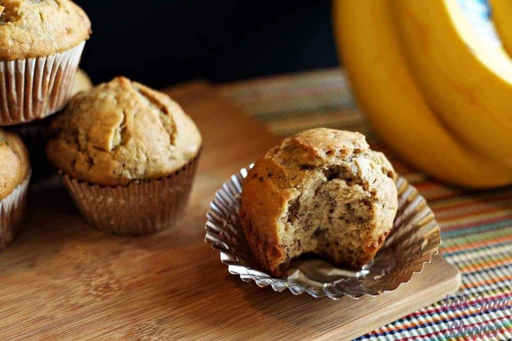 Banana Lovers' Banana Muffin recipe