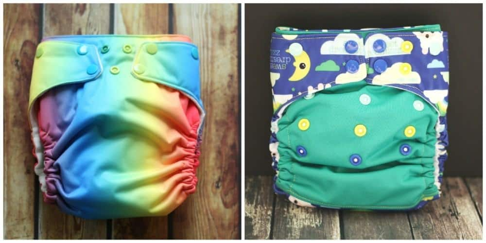 Winning Colors Baby cloth diapers AIO & AI2