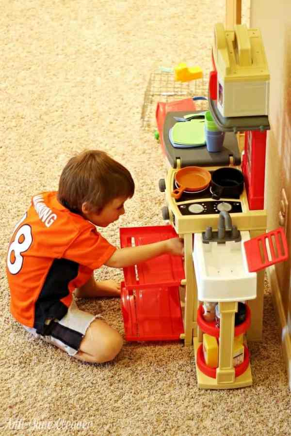 Get Cooking With The Little Tikes Cook N Store Kitchen