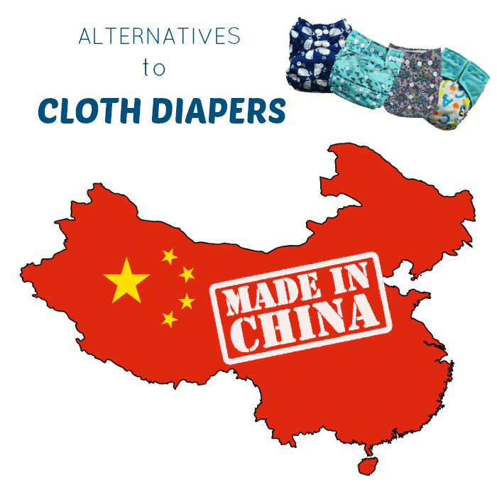 Alternatives to cloth diapers made in China