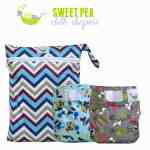 Sweet Pea Newborn Cover, AIO and Wetbag Review