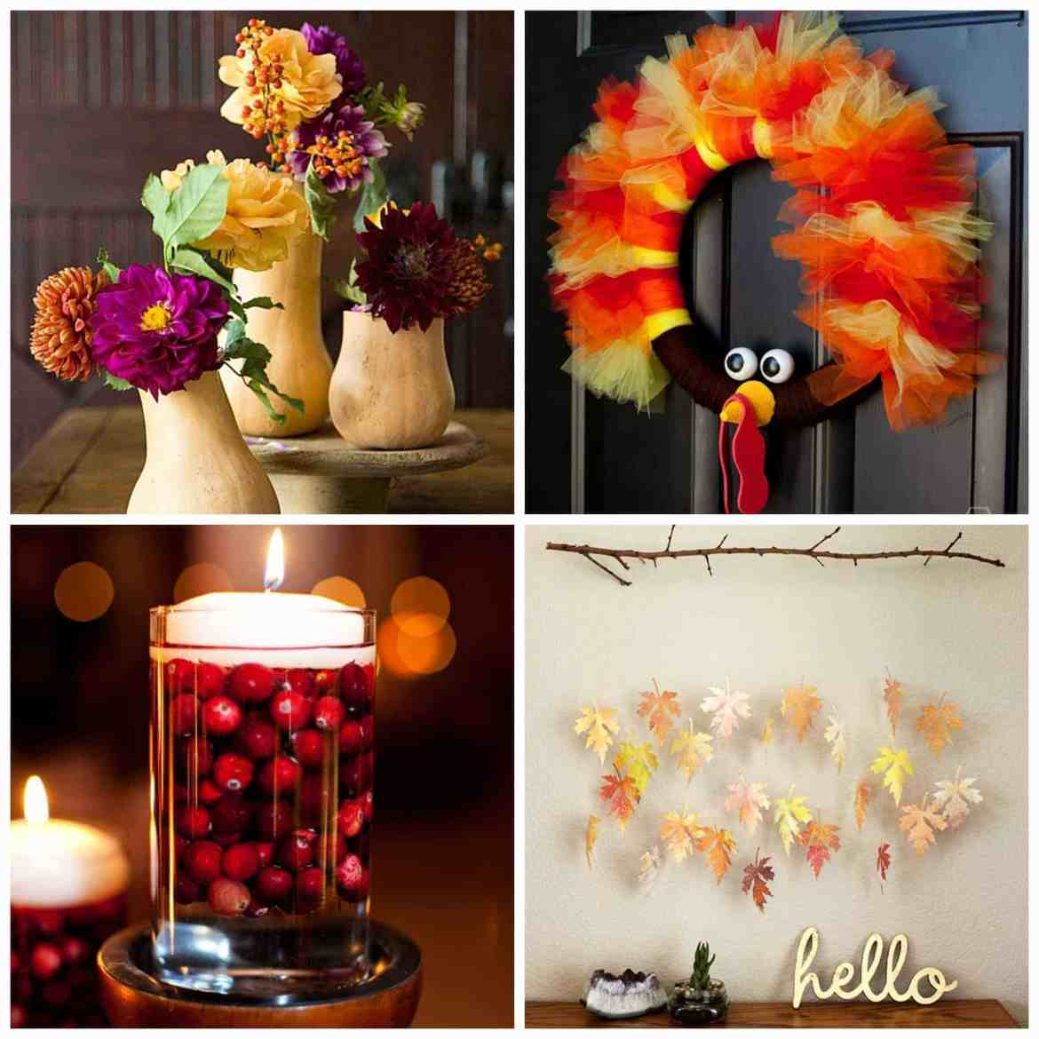 11 DIY Thanksgiving and Fall Decorations and Crafts for Adults