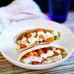 Fast and Easy Buffalo Chicken Pita Sandwiches