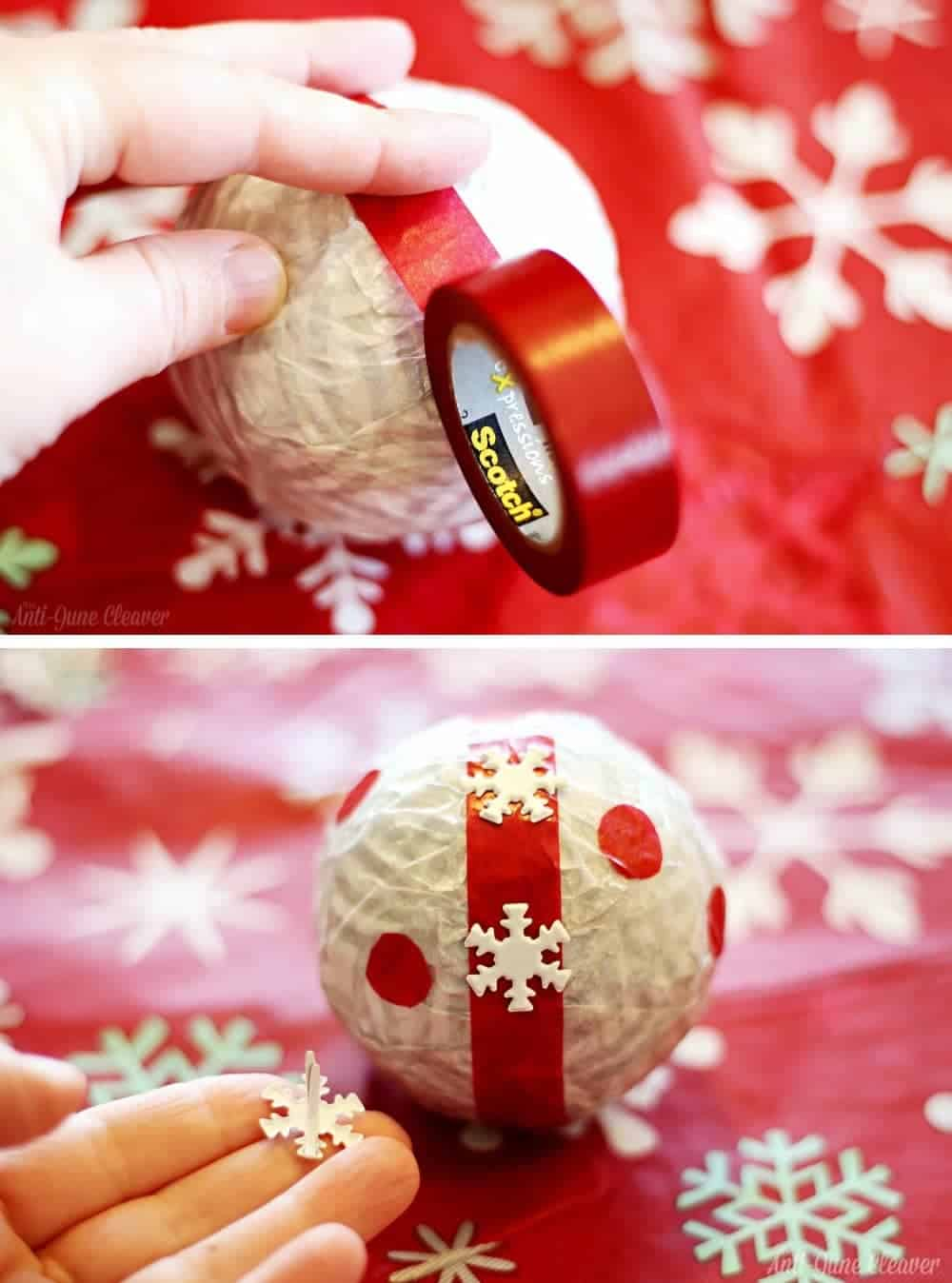 Holiday Decor Idea: DIY Deco Balls #CraftAmazing (ad)