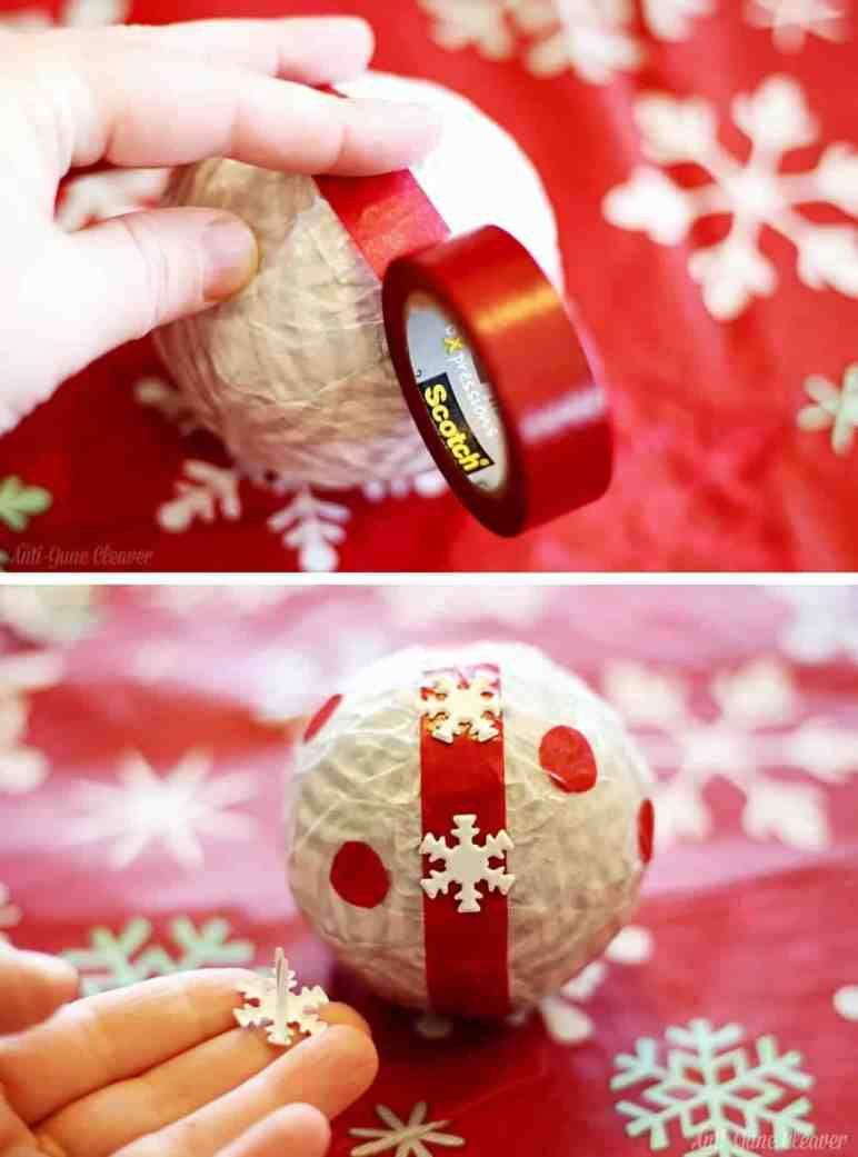 Holiday Decor Idea: DIY Deco Balls #CraftAmazing (ad)