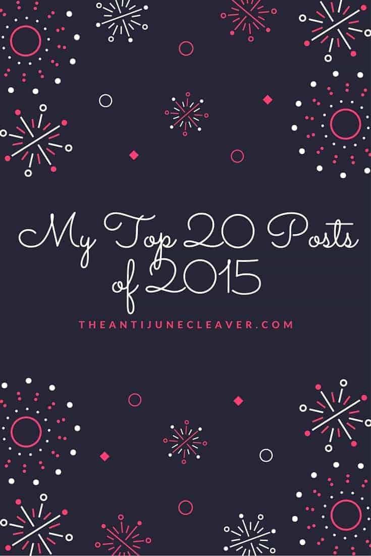 My top 20 posts of 2015