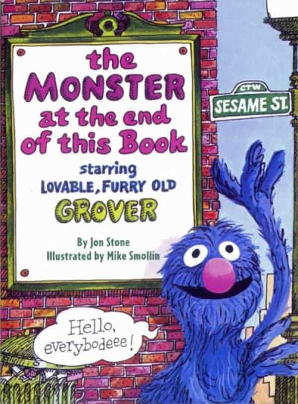Great Interactive Books for Preschoolers & Toddlers: There's a Monster at the End of this Book
