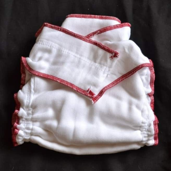 Geffen Baby fitted cloth diaper review