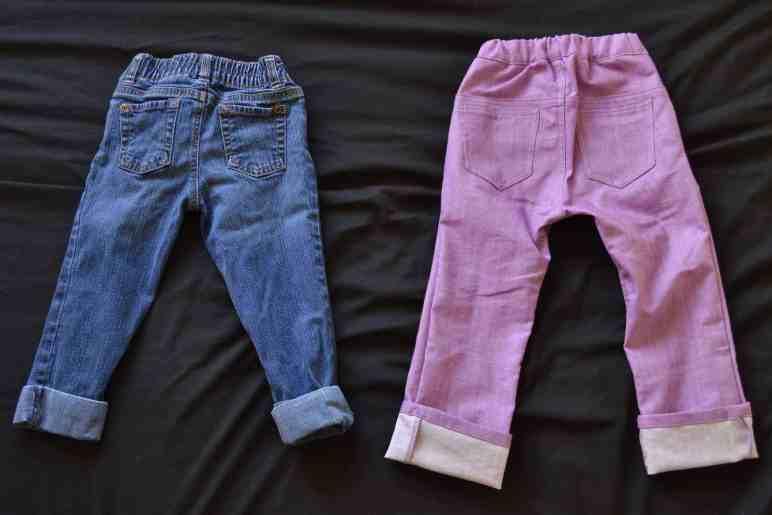 Project Pomona Jeans vs Standard