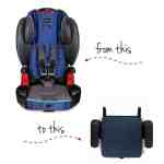 When to Switch from a Harnessed Booster to a Backless Booster Seat