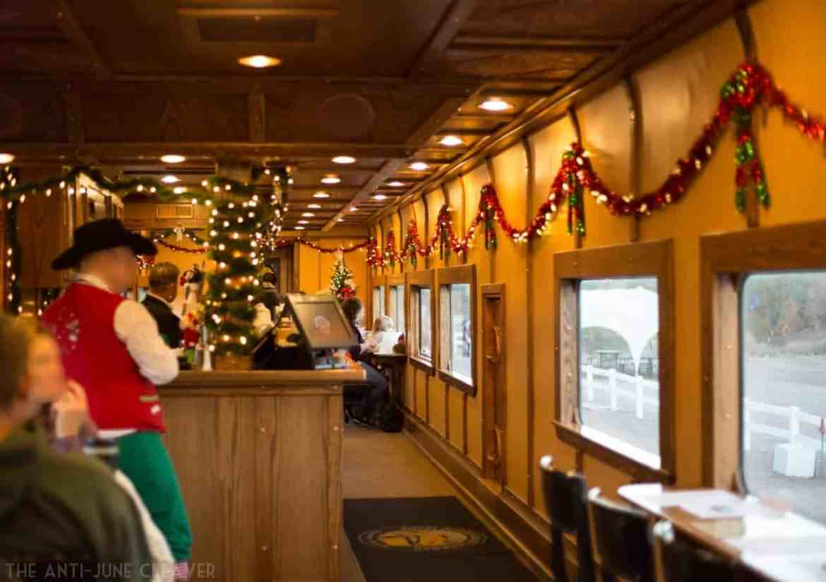 Christmas family activities in Colorado: Our Magical Ride on the Royal Gorge Santa Express in Cañon City, CO