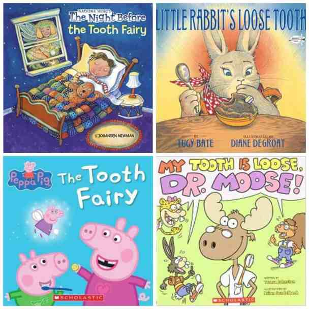 Fun Tooth Fairy Ideas - tooth fairy, loose tooth books