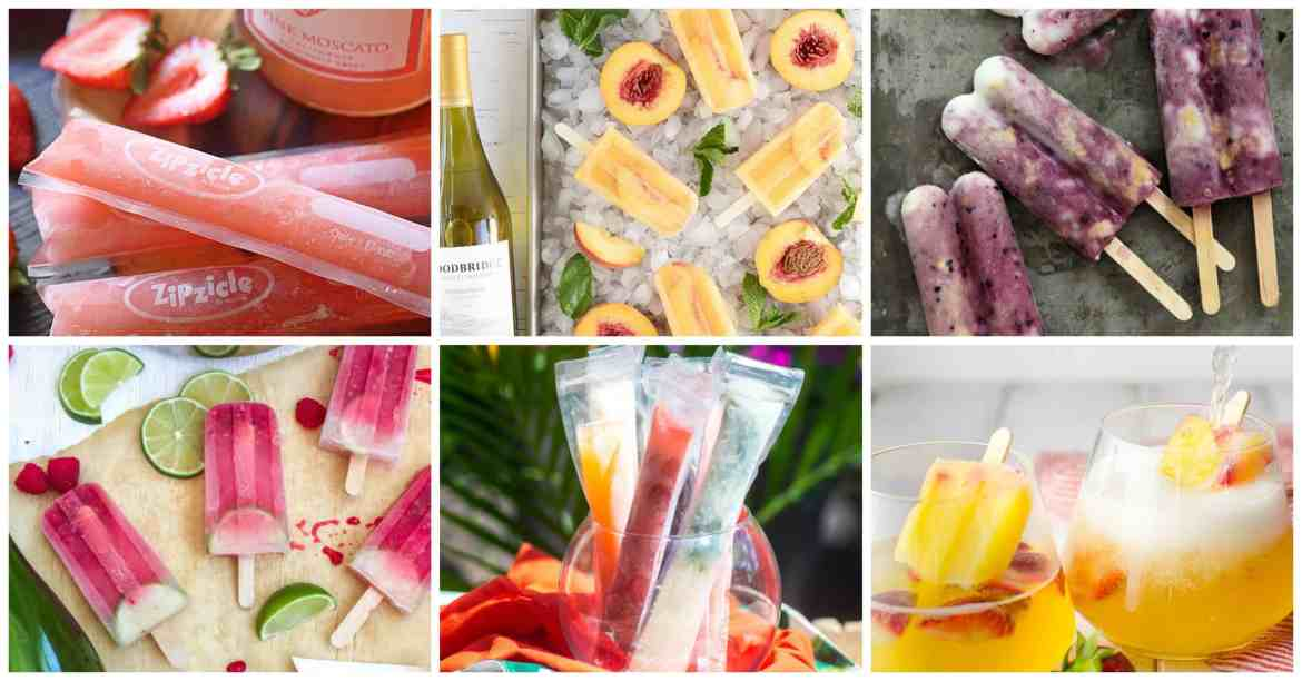 67 Poptails! Boozy alcoholic adult popsicles to cool off with this summer - wine