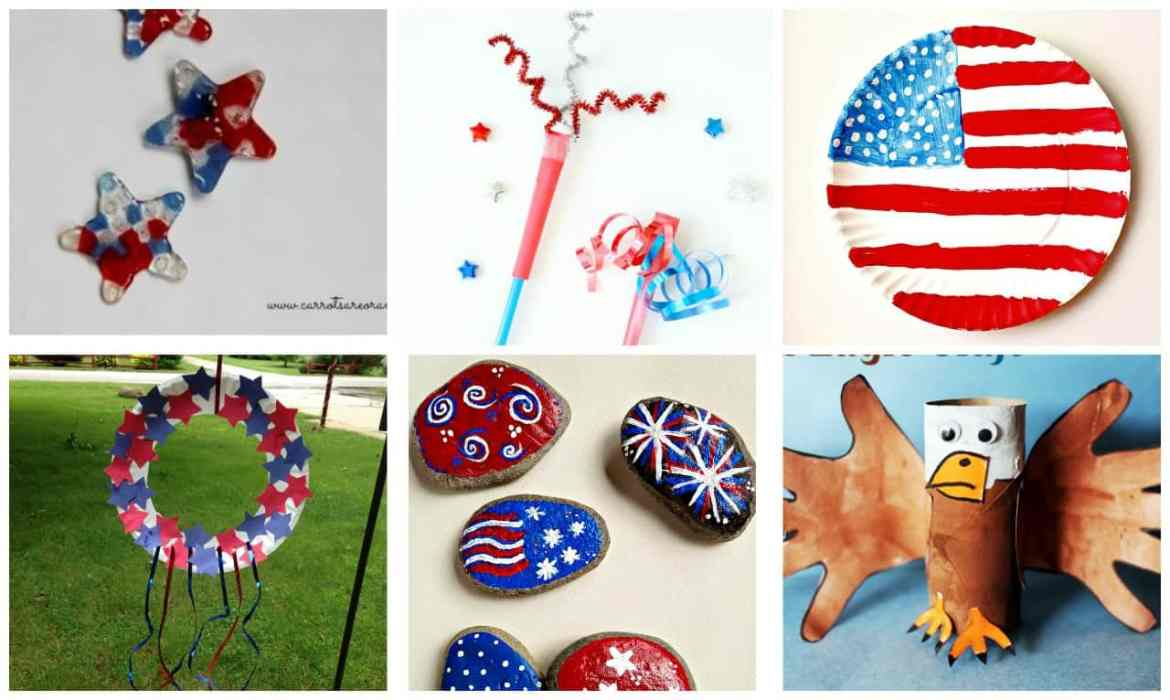 36 Fourth Of July Crafts To Do With The Little Ones The Anti June