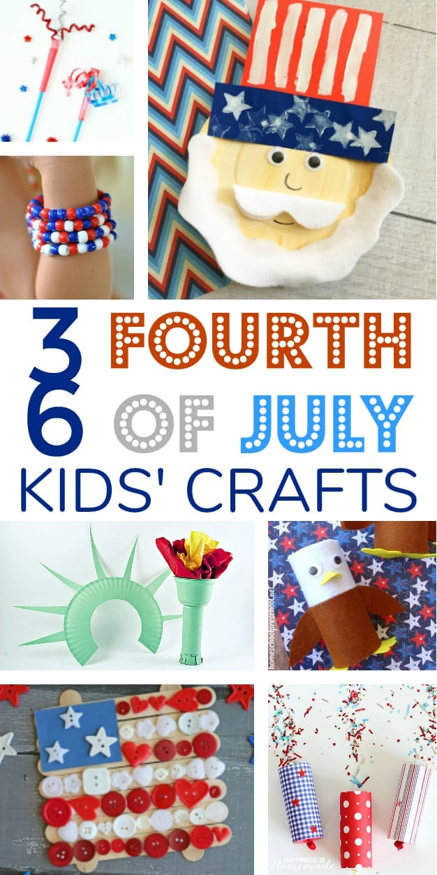 36 Fourth Of July Crafts To Do With The Little Ones The