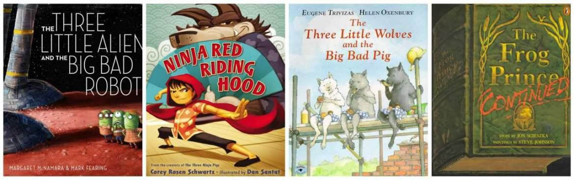Children's Books Ages 4-8: Our 12 Favorite (Funny) Alternative Fairy Tales