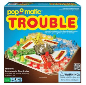 trouble how to play game