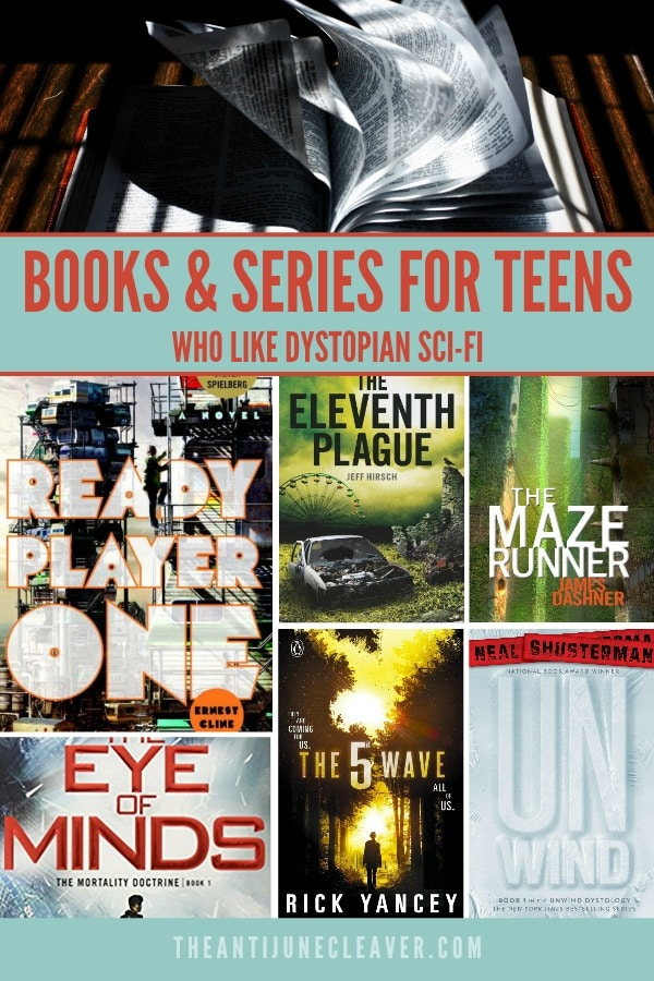 Books for Teens Who Like Sci-Fi #scifi #sciencefiction #dystopia #dystopianscifi #teens #booksforteens #books #scifibooks